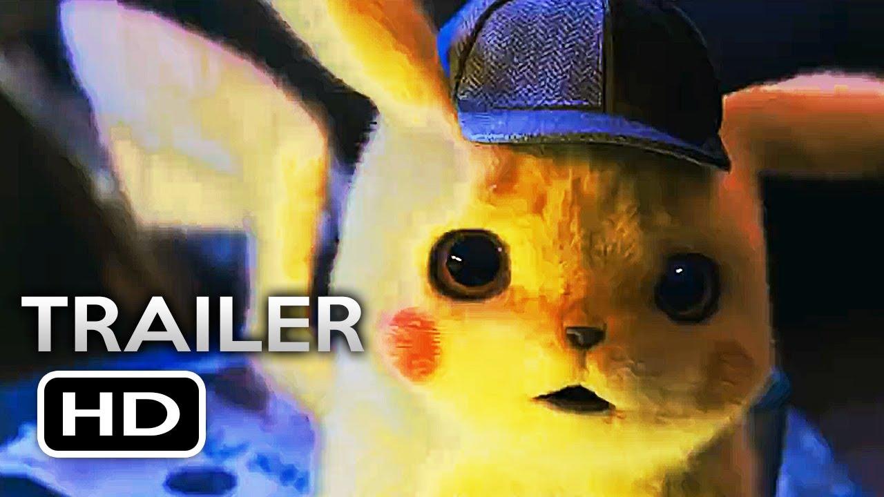 Pokemon detective pikachu official trailer 2019 ryan reynolds live action pokémon movie hd