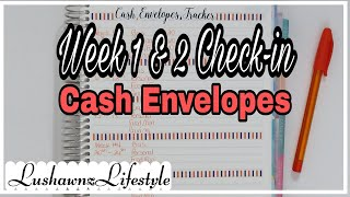 Budget With Me | Week 1 & 2 Cash Envelopes Check-in | September 2020 | LushawnzLifestyle
