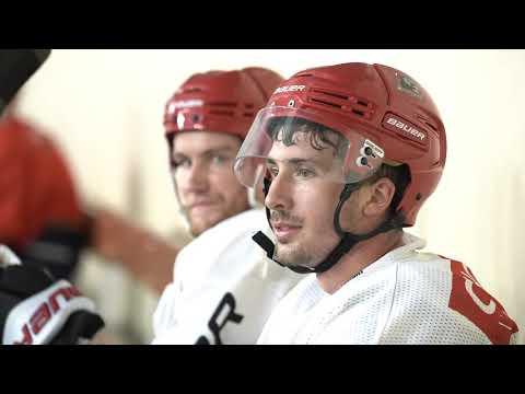 OFFSIDE. Hockey sur Glace - Séance d'entrainement avec Les Dogs