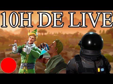 [FR/PC/LIVE] #2 LIVE 10H Fortnite en solo 721 wins!  lvl 80 / 100