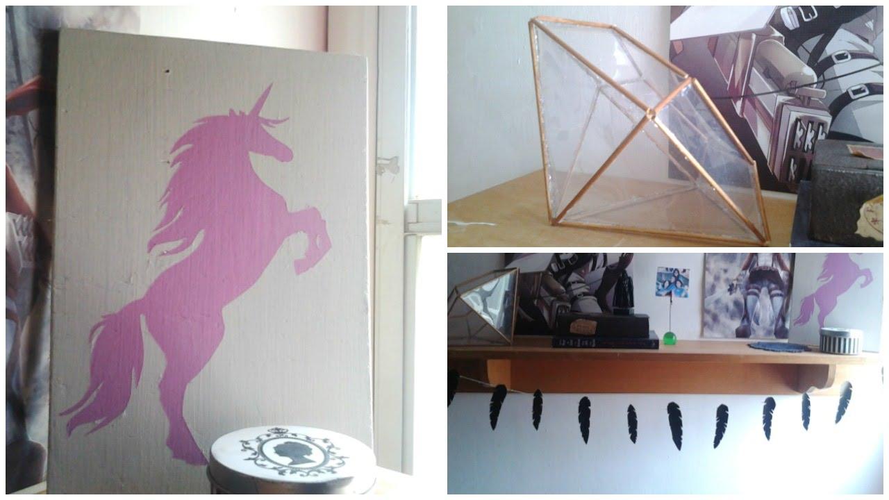 Decora tu habitaci n 3 diys bonitos y f ciles for Cosas para decorar tu cuarto