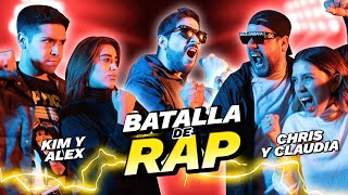 BATALLA de RAP Vol.4 - Kim Shantal y Alex Flores vs Claudia y Chris Mint 💥