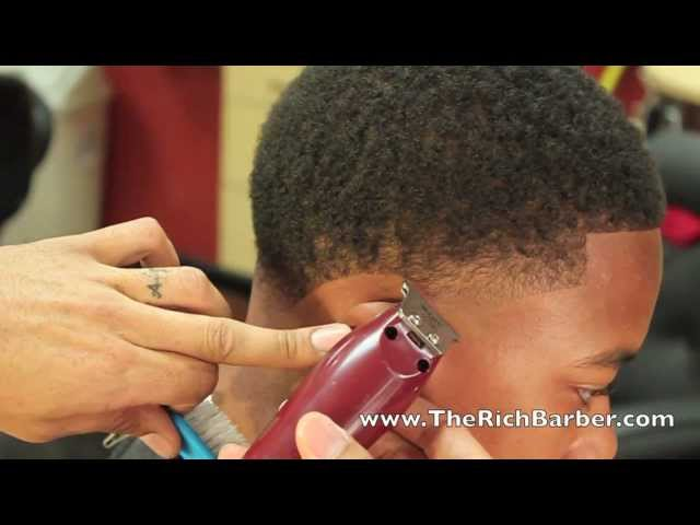 How To Taper Mini Fro Curls By Chuka The Barber Youtube