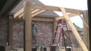 Patio Pergola Construction