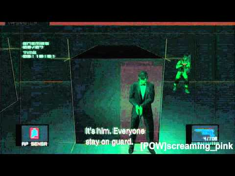 Snake (Tuxedo) Variety Mode levels 1 and 2 MGS 2 HD VR Missions Part 55