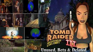Tomb Raider 3-Unused,Beta & Deleted