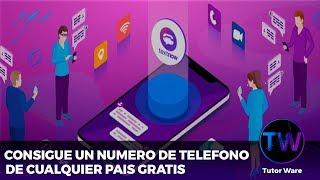 COMO CONSEGUIR UN NUMERO DE TELEFONO REAL DE (USA) DES DE CUALQUIER PAIS 2019