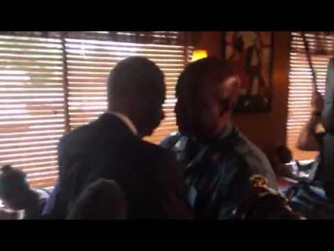 Eric Holder Meets Ron Johnson