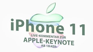 iPhone 11 & iPhone 11 Pro und die Apple Watch 5 sind da! | LIVE-Kommentar zur Apple-Keynote