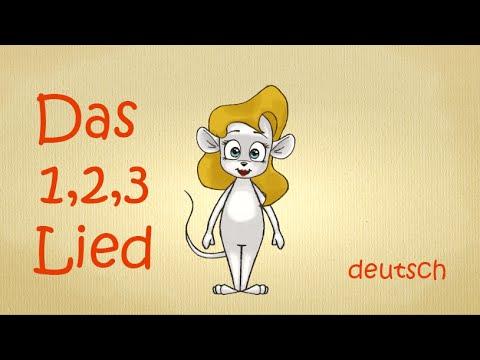 Zahlen lernen deutsch   Zahlenlied   zählen lernen   123-Lied   numbers song german 1 to 10