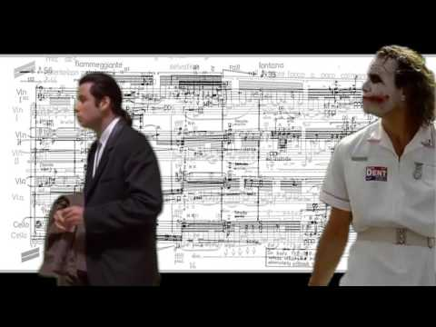Confused Travolta & Joker @ Ferneyhough ScoreFollower