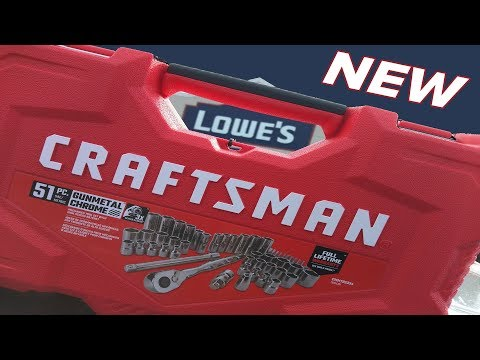 Lowe's now sells Craftsman Tools!!! With new tools at that!!!