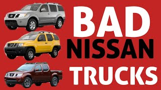 Nissan Pathfinder, Frontier, Exterra transmission problem