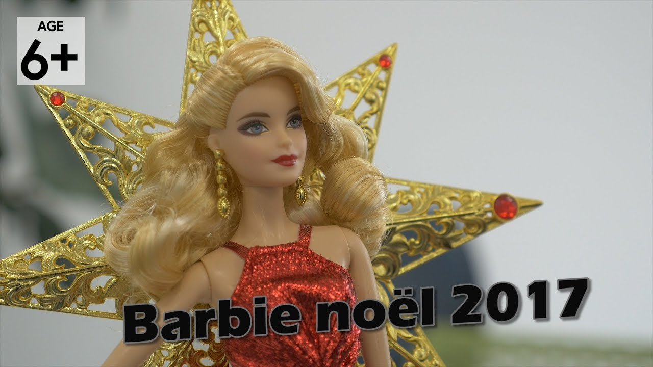 Barbie merveilleux no l 2017 collector d mo en - Barbie noel merveilleux ...