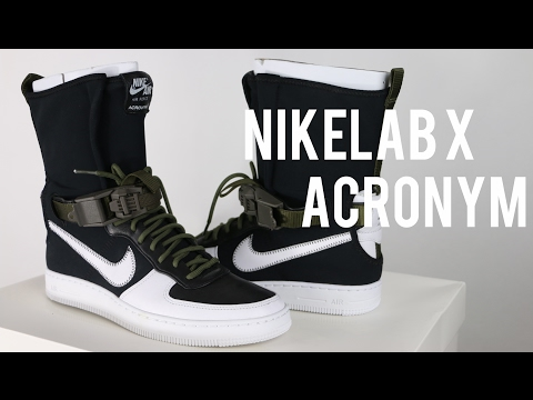 NIKELAB X ACRONYM AIR FORCE 1 DOWNTOWN HI SP Review