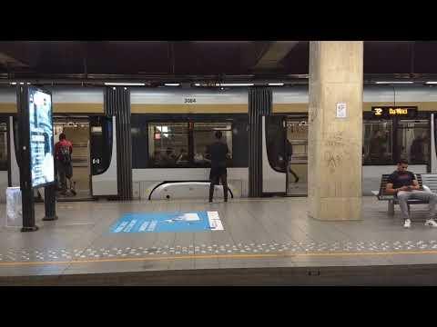 Pre-metro tram in Brussels