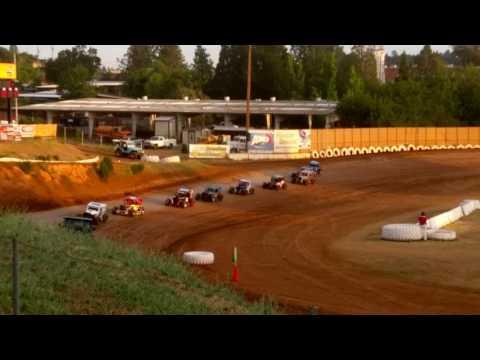 Heat Race Placerville Speedway 6-11-16