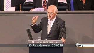 Dr. Peter Gauweiler CDU/CSU zum Fiskalvertrag und ESM-Vertrag 29.06.2012 - die Bananenrepublik thumbnail