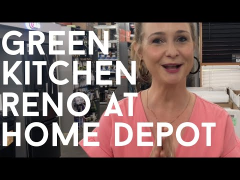 GREEN KITCHEN RENO || Modern And Classic