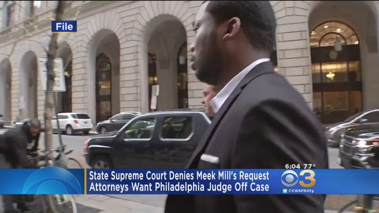 Court Won't Remove Judge, Tells Meek Mill To Appeal Ruling