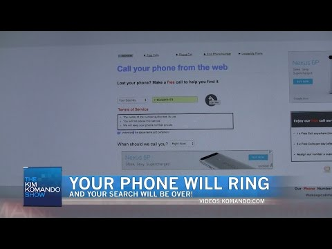 Find your lost phone with ease