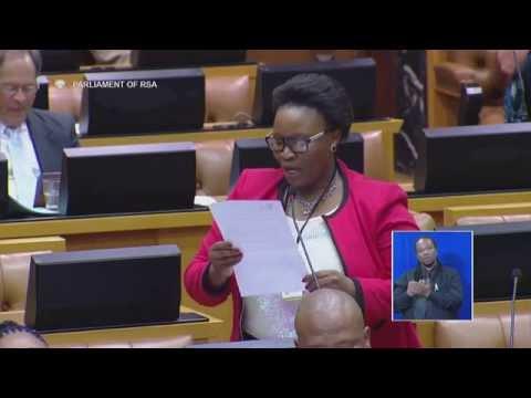 Plenary: National Assembly, 27 October 2015