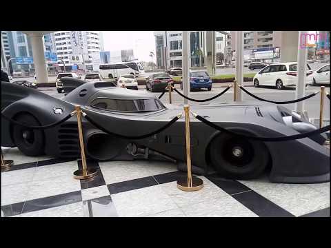Batman Car In Dubai, United Arab Emirates