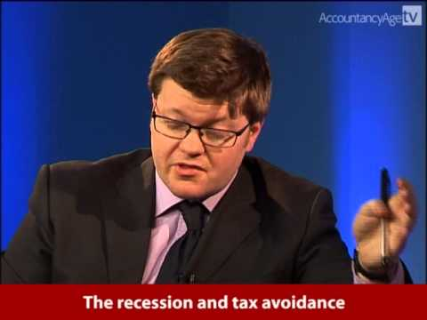 Law Society & Accountancy Age TV Interviews - The Recession and Tax Avoidance