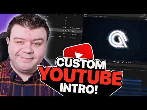 How To Turn Your Logo Into a CLEAN YouTube Intro!