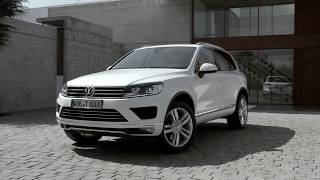 Volkswagen Touareg реклама