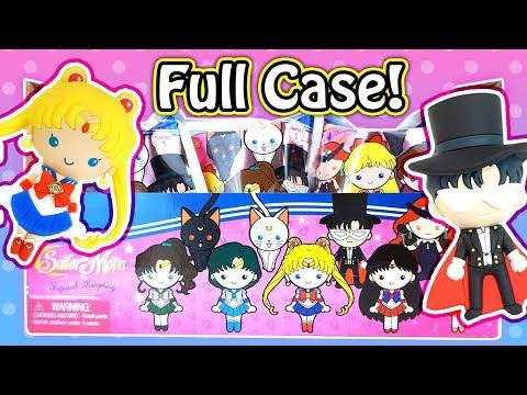 Anime Sailor Moon Figural Keyrings Blind Bags Full Case Unboxing!