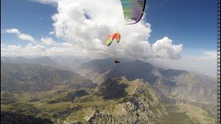 Kyrgystan vol bivouac paragliding 2018