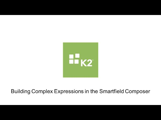 How-To: Building Complex Expressions in the Smartfield Composer