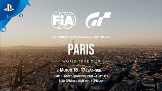 Gran Turismo Sport - 2019 FIA Certified GT Championship World Tour Announcement | PS4
