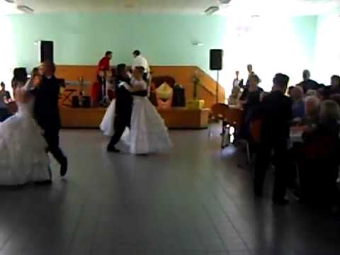 demonstration de danse de salon valse youtube. Black Bedroom Furniture Sets. Home Design Ideas