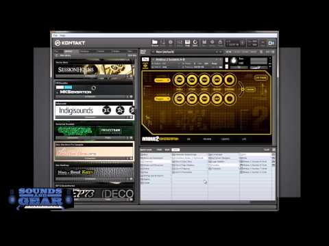Adding libraries to Kontakt fixing the library not found error - SoundsAndGear