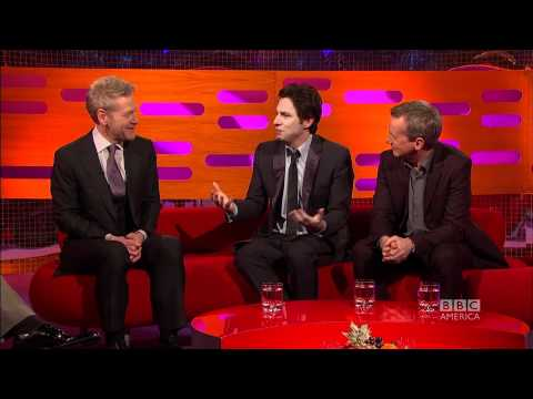 ZACH BRAFF: WeightLifting Tips From Schwarzenegger! The Graham Norton