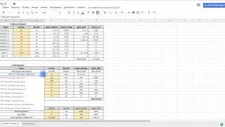Как автоматизировать расчет сметы для клиента в экселе?
