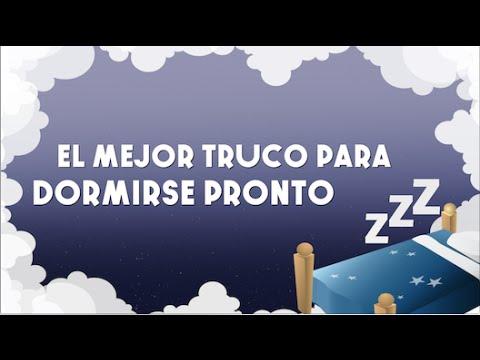 trucos para dormirse rapido