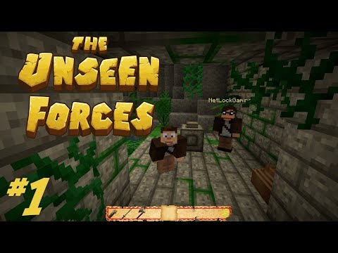 Best Adventure Map Ever! :: The Unseen Forces III Part #1 (Minecraft Adventure Map)