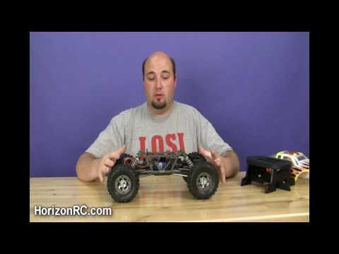 HorizonRC.com Preview - Team Losi Racing's 1/10-scale Comp Crawler