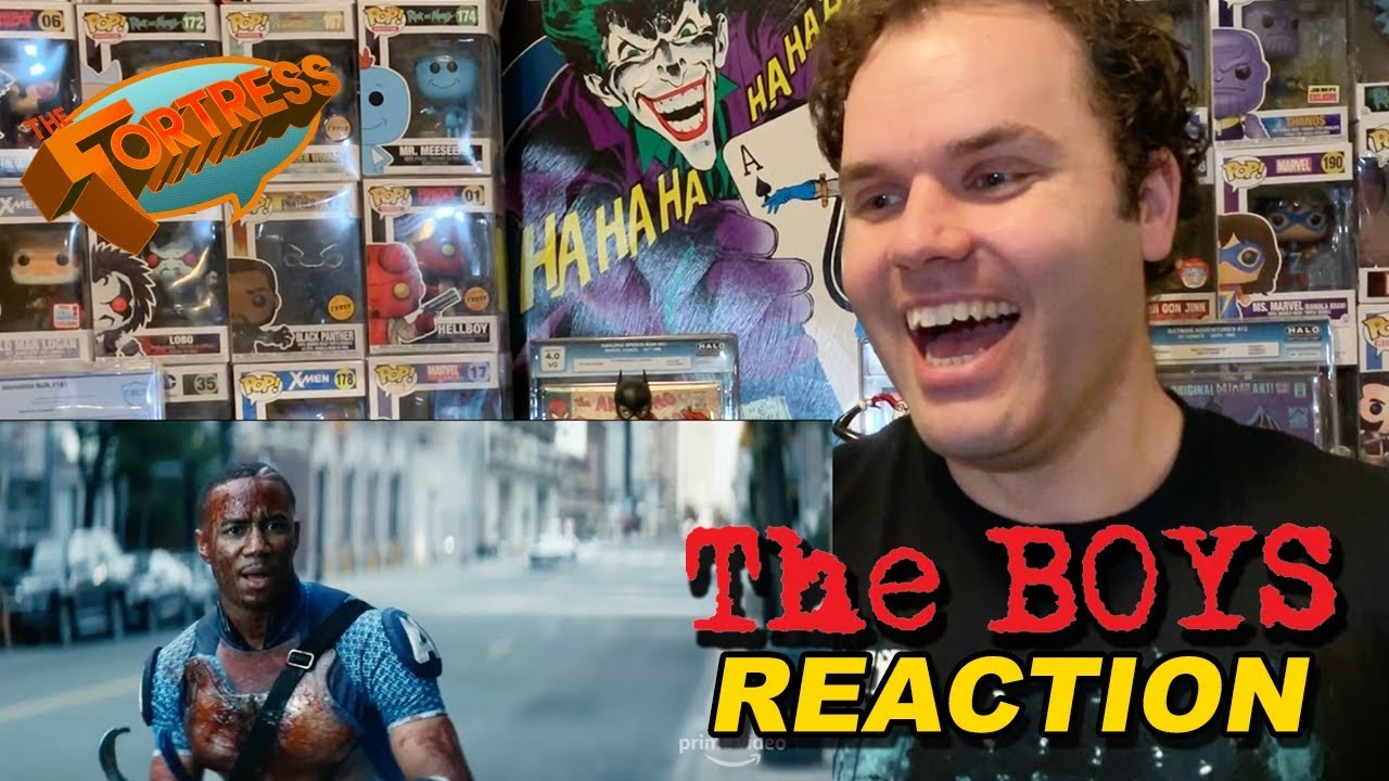 The Boys Official Trailer Reaction Prime Video Red Band