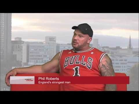 England's strongest man in-depth interview on Sheffield Live TV second part