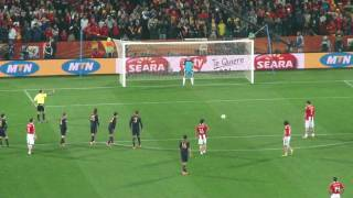 FIFA World Cup 2010 - Spain v Paraguay - Paraguay's penalty miss