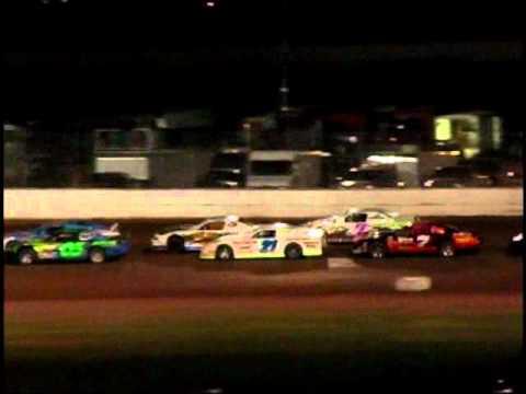 Oshkosh Speedzone Raceway - 6-1-2012 - Grand National feature.