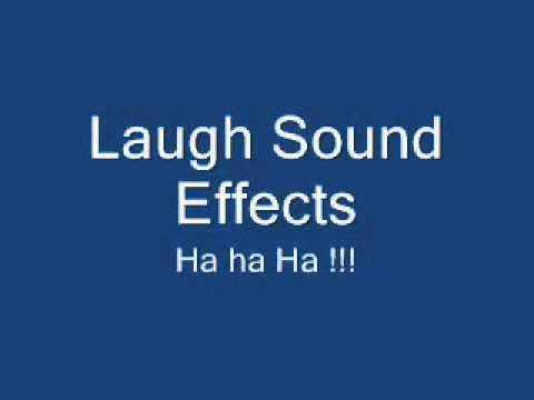 laughing sound effects - YouTube