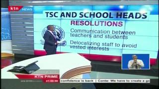 TSC and schools heads put across new resolution
