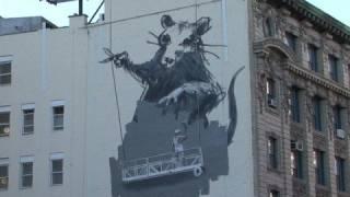 BRAND NEW Banksy artwork in New York