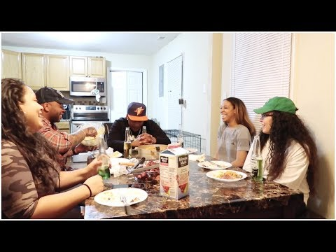 Let's Chat!! PART 2! Dominican Food Mukbang  St.Patty's Day 2019