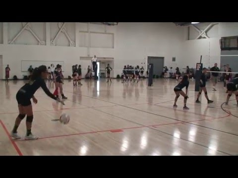 Offshore Volleyball Club 13-1 Girls vs Forza1 West 13-Asics Match 1